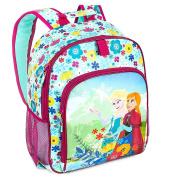 Disney Kids Frozen Anna and Elsa Backpack - Blue