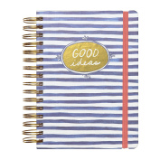 "C.R. Gibson 3-in-1 Journal, By Iota Chic, Includes 3 different types of pages throughout, Measures 7.25"" x 8.55"" - Flourish"