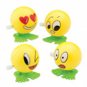 Wind Up Emojis - Prizes and Giveaways - 24 per Pack