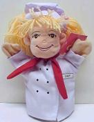 Sabbit Woman Chef Puppet