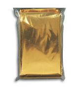 Tatonka 2985 - The Rescue Blanket 210 x 160 cm gold