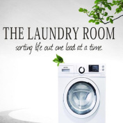 Wall Stickers,GOODCULLER (You) the laundry room Quote Removable Decal Room Wall Sticker Vinyl Art Home Decor