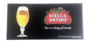 Stella Artois Beer Professional Bar Mat Spill Mat Rail Drip Mat