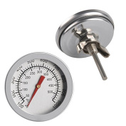2x 50-500°C Stainless Steel Barbecue BBQ Pit Smoker Grill Thermometer Temp Gauge