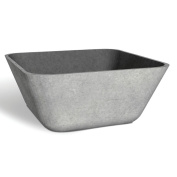 FOH Square Stainless Bowl Antiqued Finish 150ml