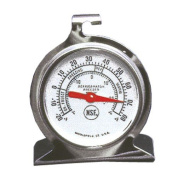 Stainless Steel Refrigerator/Freezer Thermometer   5.1cm Dial