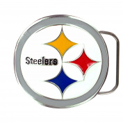 NFL Pittsburgh Steelers Belt Buckle, Silver