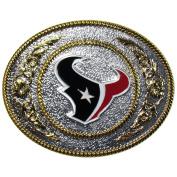 NFL Houston Texans Two Toned Belt Buckle