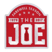 """2017 Detroit Red Wings Arena Final Farewell Season """"The Joe"""" Jersey Patch"""