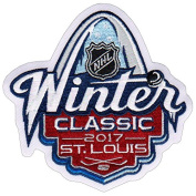Official 2017 NHL Winter Classic Jersey Patch St. Louis Blues Chicago Blackhawks