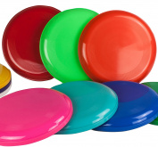 Flying Disc, Frisbees, Various Colours, Pack of 10 - SchwabMarken