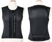 Back Protector S Black Back Protection Vest Riding Comfortable Black