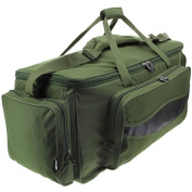 XXL Green Carp Fishing Tackle Bag Holdall NGT 909L Insulated Bag
