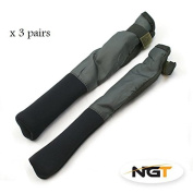 Tip & Butt Protector For Made Up Rods x 3 pairs carp/coarse fishing