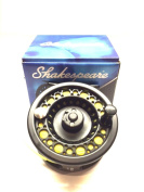 Shakespeare Fly Fishing Reel Large Arbour with Backing , Floating Line , and Leader loop fitted