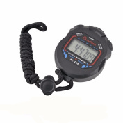 Familizo Digital Professional Handheld LCD Chronograph Sports Stopwatch