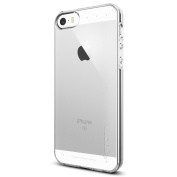 iPhone 5 / 5S / SE Case, Spigen® [Liquid Armour] [Crystal Clear] SOFT-FLEX **NEW** Silicone Shockproof Protection, Premium Flexible Soft TPU slim thin clear cover for iPhone 5 / 5S / SE -
