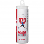 Wilson Staff Red Dot Squash Balls - Tube of 3