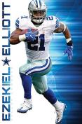Trends International RP15013 Wall Poster Dallas Cowboys Ezekiel Elliott,,60cm X 90cm