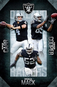 Trends International RP15025 Oakland Raiders Team Wall Poster, 60cm x 90cm