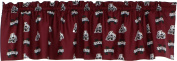 College Covers Mississippi State Bulldogs Printed Curtain Valance - 210cm x 38cm