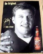 Coors Beer John Elway 20 X 27 Poster
