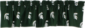 College Covers Michigan State Spartans printed Curtain VALANCE, 210cm X 38cm