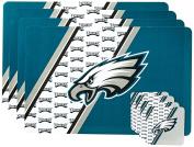 NFL Philadelphia Eagles Placemat Coaster Set