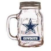 NFL Dallas Cowboys Duckhouse 590ml Mason Jar