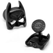DC Comics Satin Black Batman Mask Cufflinks