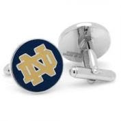 Notre Dame Fighting Irish Logo Cufflinks Licenced by NCAA