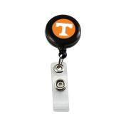 NCAA Sports Team Logo Tennessee Vols Volunteers Badge Reel Keychain ID Ticket Holder Clip