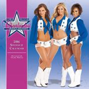 Turner Dallas Cowboy Cheerleaders 2016 Wall Calendar, 38cm x 38cm
