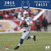 Turner Perfect Timing 2015 Indianapolis Colts Team Wall Calendar, 30cm x 30cm
