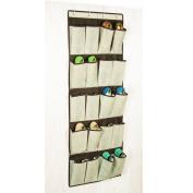 Richards Homewares Celessence Crisp linen Storage scents 20 Pocket Over the Door Shoe Orgnizer