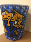 NCAA Kentucky Wild Cats Hologram 25cm Trash Can Waste Basket