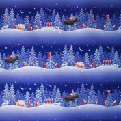 Christmas Wrapping Paper - Nordic Night