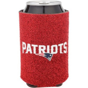 New England Patriots NFL Team Logo Sports Drink Beer Water Soda Beverage Can Insulated Picnic Outdoor Party Beach BBQ Kooler Can Cooler - 350ml Glitter Can