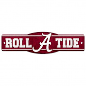 NCAA University of Alabama 89334010 Street/Zone Sign, 11cm x 43cm