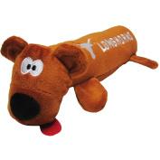 University of Texas Bear Tube Dog Toy