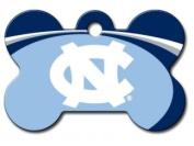 Officially Licenced NCAA University of North Carolina Tarheels Bone Pet ID Tag