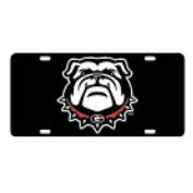 Georgia Bulldogs New Logo Car Tag