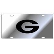 Georgia Bulldogs Silver w/Black G Car Tag