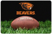 NCAA Oregon State Beavers Classic Football Pet Bowl Mat, Large