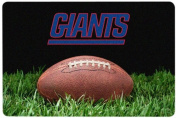 NFL New York Giants Classic Football Pet Bowl Mat, Large