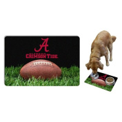 NCAA Alabama Crimson Tide Classic Football Pet Bowl Mat, Large