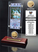NFL Green Bay Packers Super Bowl 31 Ticket & Game Coin Collection, 30cm x 5.1cm x 13cm , Black