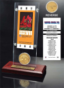 NFL Miami Dolphins Super Bowl 7 Ticket & Game Coin Collection, 30cm x 5.1cm x 13cm , Black