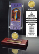 NFL Pittsburgh Steelers Super Bowl 9 Ticket & Game Coin Collection, 30cm x 5.1cm x 13cm , Black