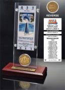 NFL Indianapolis Colts Super Bowl 41 Ticket & Game Coin Collection, 30cm x 5.1cm x 13cm , Black